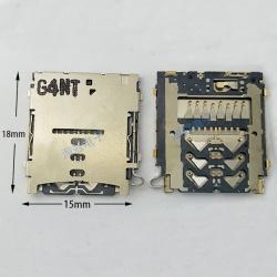 N76 LECTOR DE LA TARJETA MICRO SD PARA SAMSUNG GALAXY A3,A300,A5,A500,A7,A700