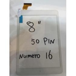 num16 tactil de tablet generica 8 pulgadas