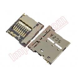 S2 Lector de tarjeta micro SD para Sony Xperia M4 Aqua E2303, E2306, y Dual E2312, E2333, E2363