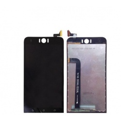 Pantalla completa (LCD/display + digitalizador/táctil) negra Asus Zenfone Selfie, ZD551KL