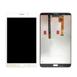 Pantalla completa plateada con carcasa frontal y marco para tablet Samsung Galaxy Tab A 4G (2016), T285 de 7 pulgadas