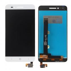 Pantalla completa (LCD + Táctil Digitalizador) Blanca para ZTE Blade A610