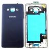 Carcasa Original Samsung Galaxy A5 SM-A500 Tapa Trasera Black zoom