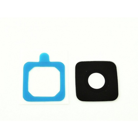 Lente de cámara negra con adhesivo para Samsung Galaxy Note Edge, N915F