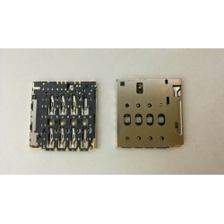 "N96 Lector / conector SIM para Alcatel One Touch Pixi 4 (6"") / OT8050D"