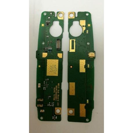 Modulo Antena y Microfono Original para Alcatel M812 Orange Nura