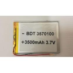 BATERIA PARA TABLE GENERIA BDT 3570100 3500mAh 3.7V