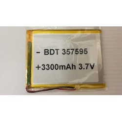 BATERIA PARA TABLE GENERIA BDT 357595 3300mAh 3.7V