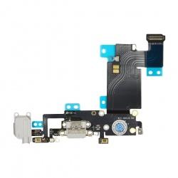 Circuíto flex con conector de carga y accesorios, micrófono para iPhone 6s plus