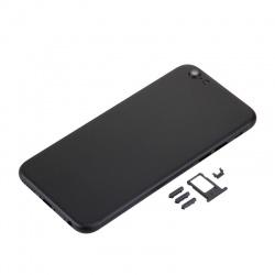 chasis, tapa trasera para iphone 7g color Negro Brillante