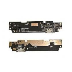 Placa auxiliar con micrófono, conector micro USB de carga, datos y accesorios para Xiaomi Redmi Note 2