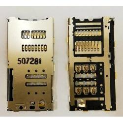 n105 lector sim+micro sd para Alcatel Fire E 6015X