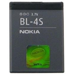 N66 Batería BL-4S Nokia 2680s slide, 3600s slide, 3710f, 7020, 7100s Supernova, 7610 Supernova, X3-02 Touch&Type de 860mAh