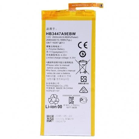 Batería HB3447A9EBW para Huawei P8, GRA-L09 电池