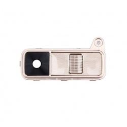 modulo de lente de camara con boton power encendido+volumen para lg k8 k350n