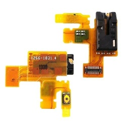 flex power boton encendido y jack audio para sony tablet z, z tablet, sgp321 sgp312 sgp311