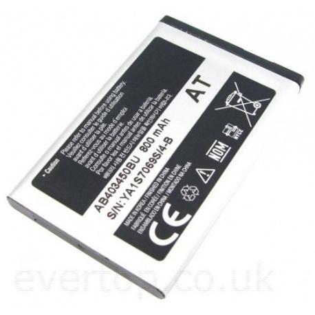 N270 Bateria Original Samsung GT-E2550 E590 E790 S720i..800 mAh AB403450BU / BA