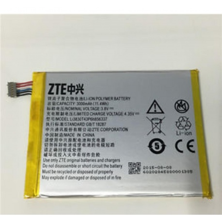 Bateria Li3830T43P6h856337 Para ZTE Blade A570 / Vodafone Smart Ultra VF995N / ZTE S6 Plus de 3000MHA