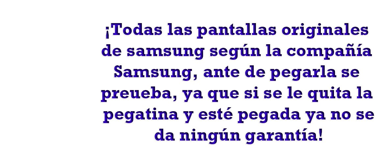 Atencion de Pantalla Samsung